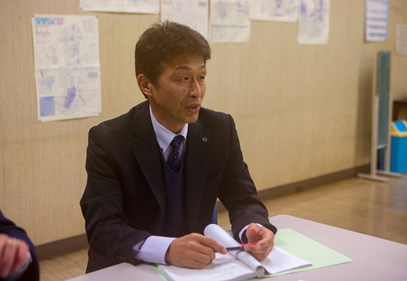 企業立地定住促進課の榛澤浩司課長