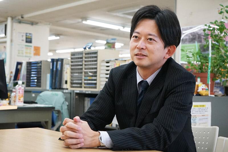 ものづくり推進課村井聡さん