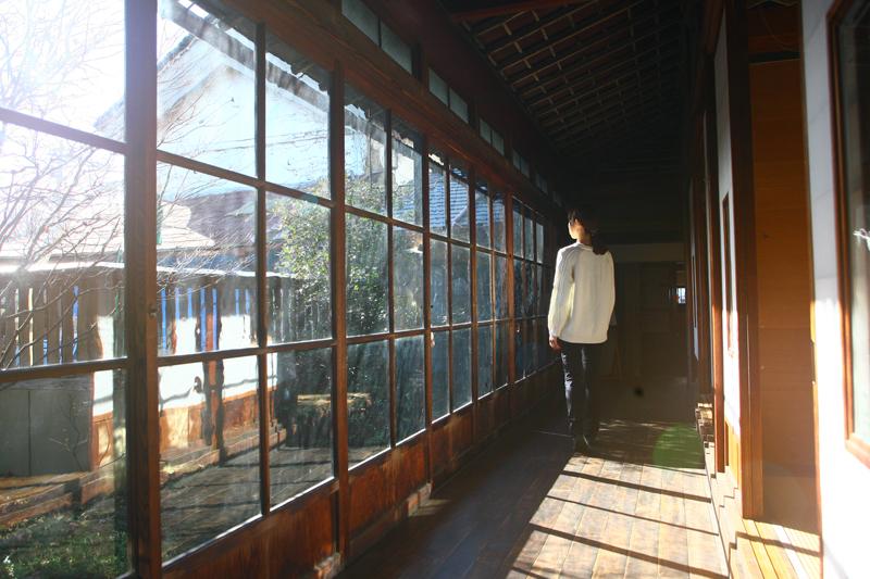 壽丸屋敷の廊下