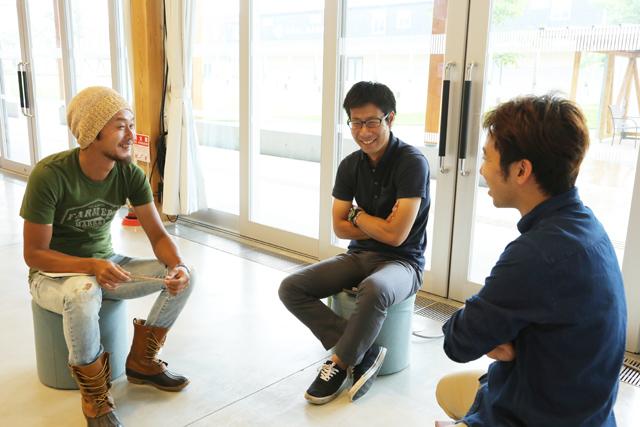 3名の若手プレイヤーが集まった