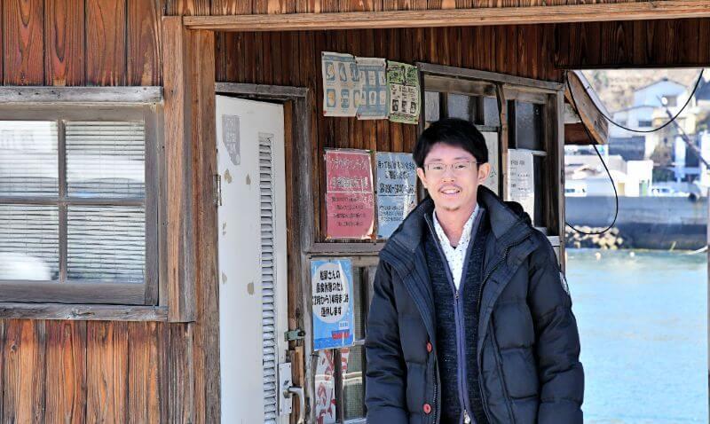 クラウドファンディングを立ち上げた音戸魅力化推進協議会メンバー、数田祐一さん