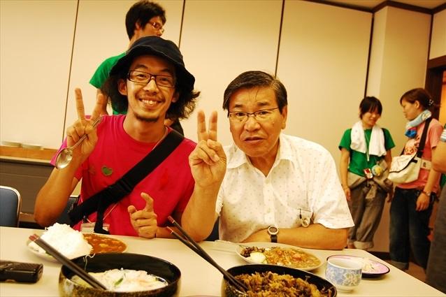 新井さんと牧野市長