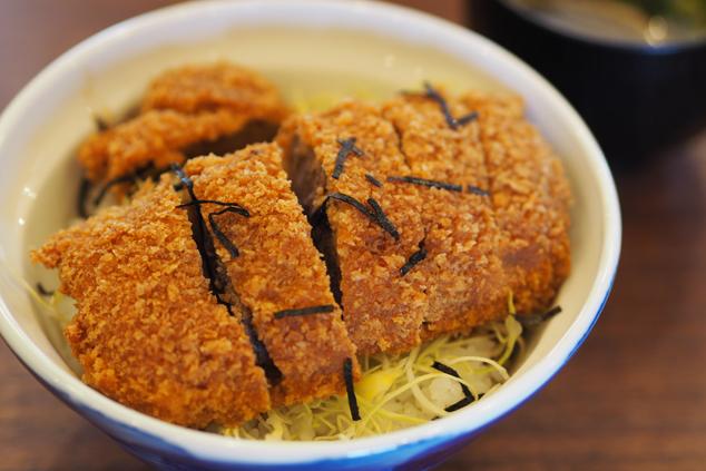 鹿ソースカツ丼