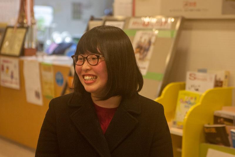 ガクセイズム代表の佐藤希美さん
