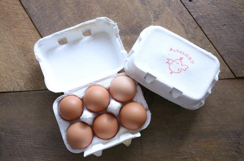 松本養鶏場の卵