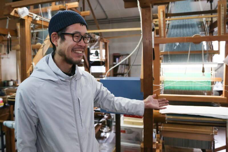 機織りは初めての経験だったという川端さん