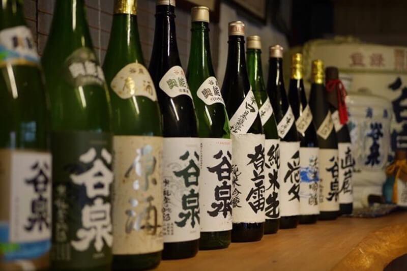 「谷泉」は鶴野酒造の代表銘柄