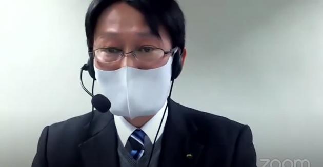 総評を行った、山形県産業労働部 中小企業振興課 課長補佐 古瀬隆志さん