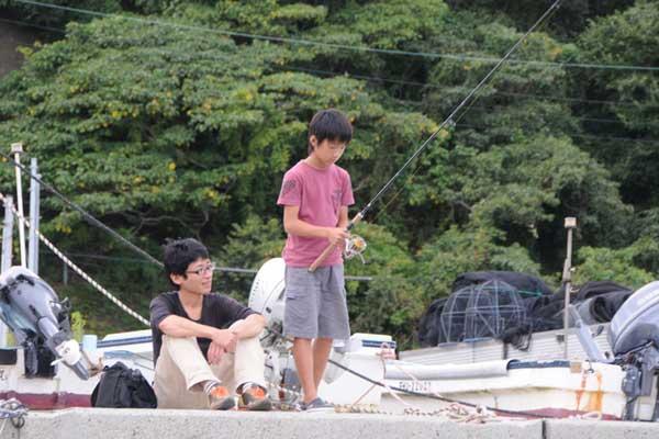 子ども釣り