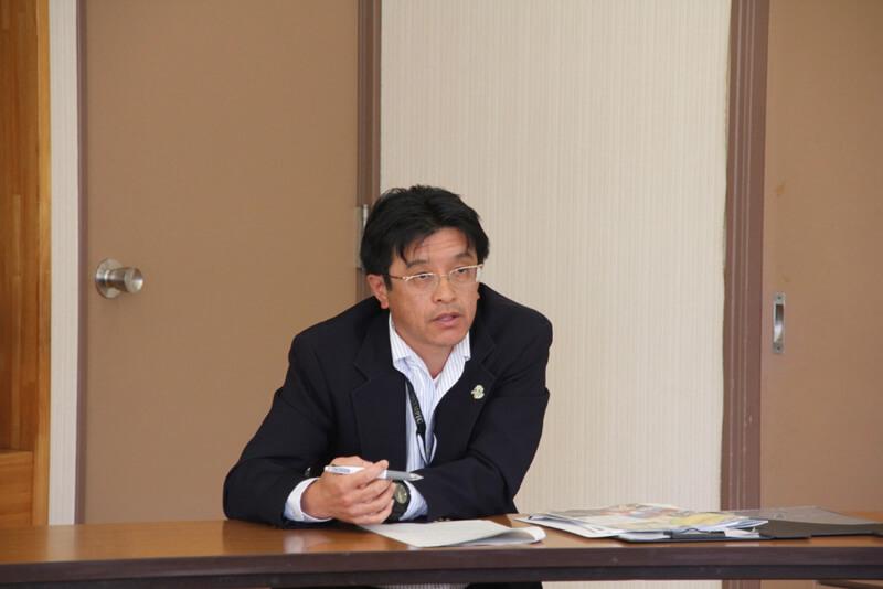 富津市企画課長 坂本秀則さん