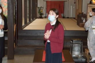 老舗旅館「お宿 花かんざし」二瓶明子さん