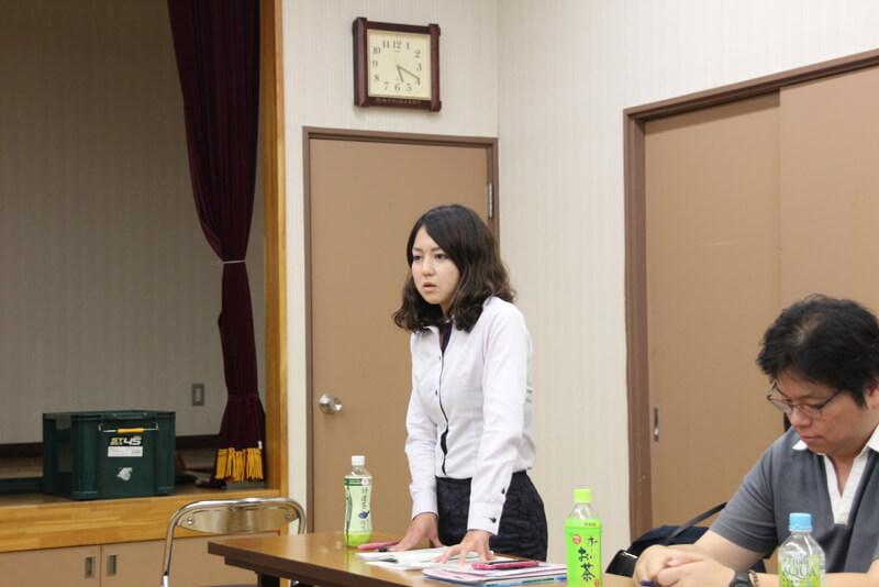 国土交通省半島振興室 川﨑由理奈さん