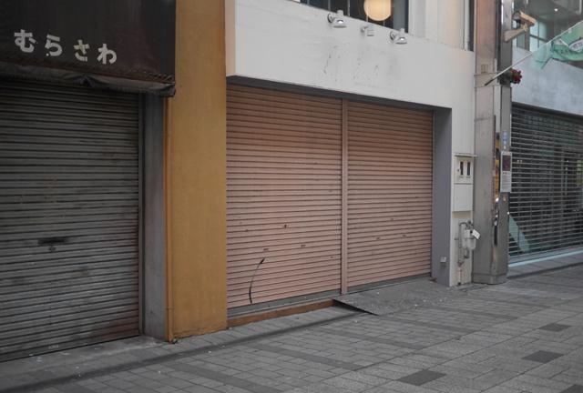 中心地である福井駅前エリアも空き店舗が目立ち、空洞化が問題になっていた