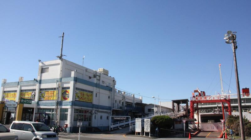 東京湾フェリー金谷ターミナル