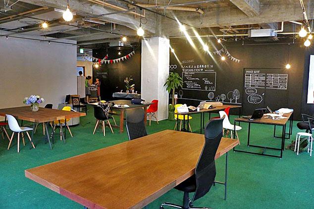 コワーキングスペース&シェアオフィス「naedoco」
