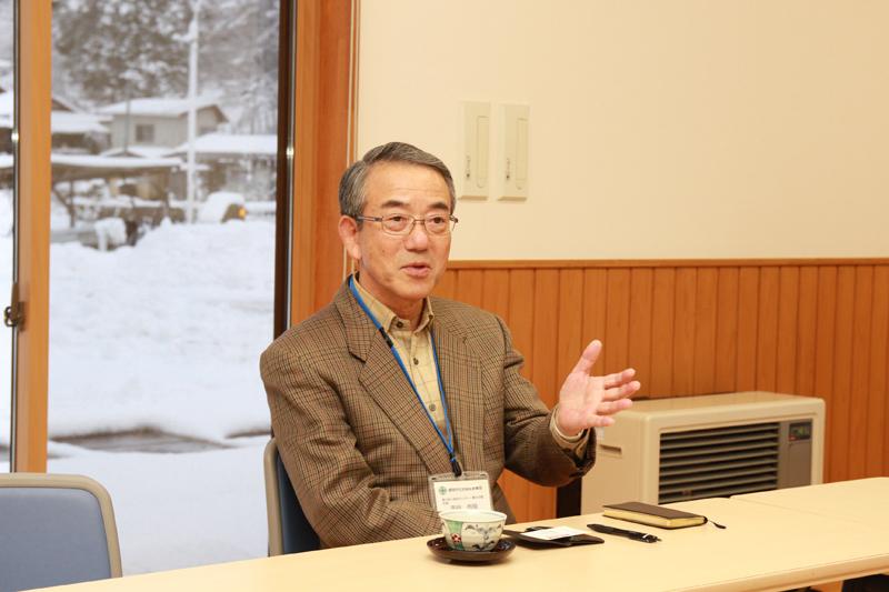 老人福祉センター施設長吉田吉明さん