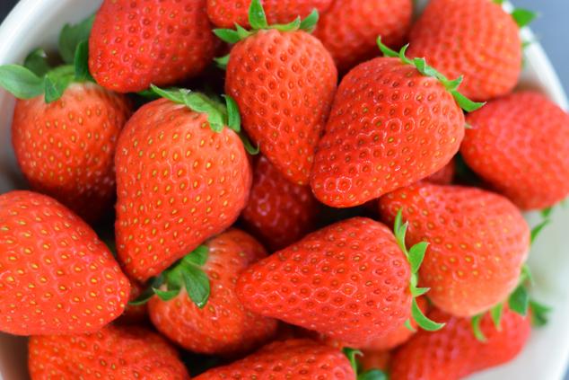 南房総市産のイチゴ