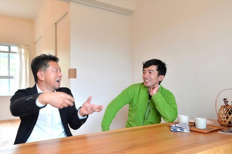 鴛海幸司さんと大山哲生さん