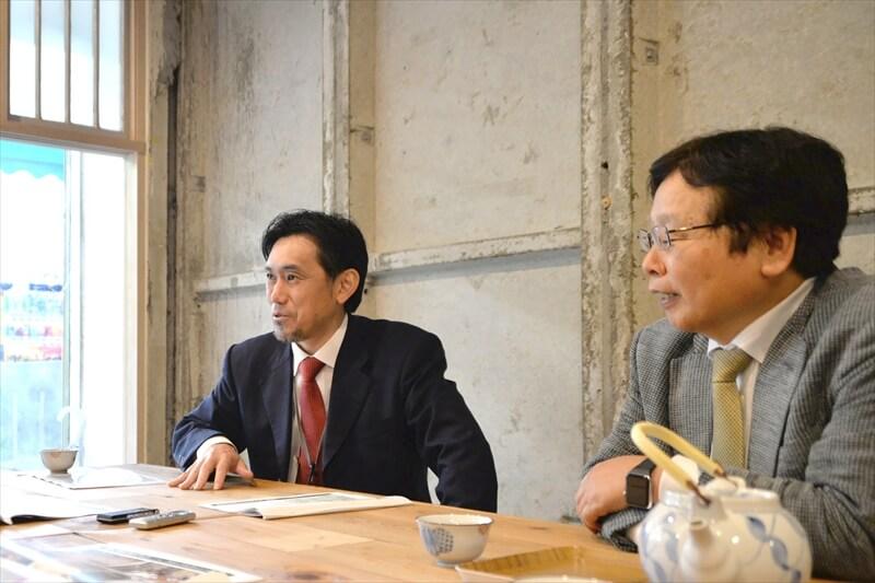 鈴木伸一朗さんと蔀健夫さん