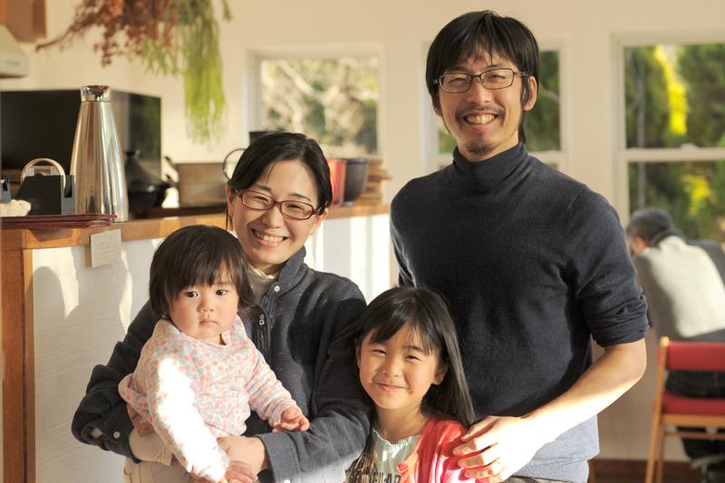 國岡さん家族