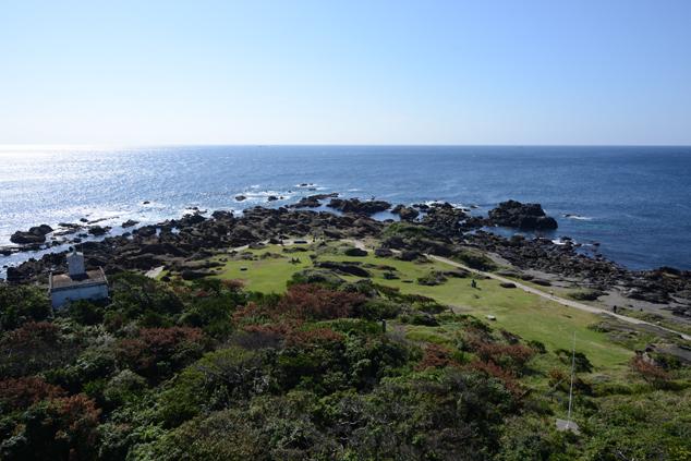 灯台からの風景