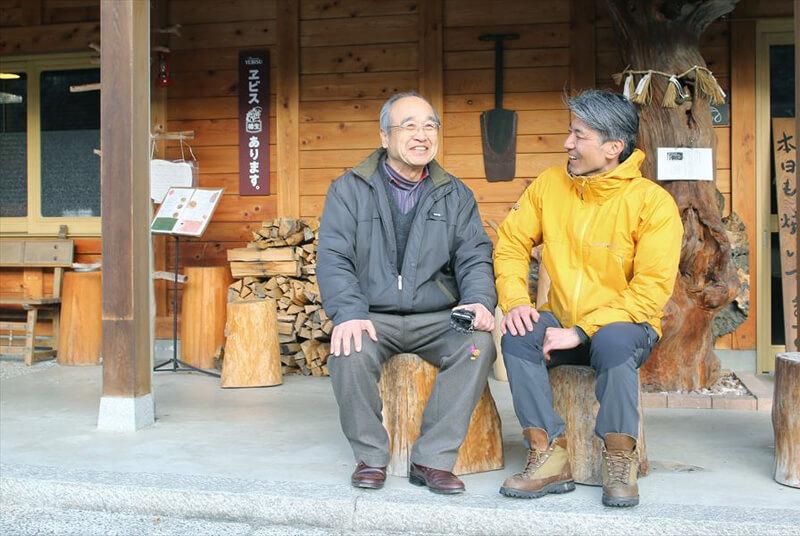 雨宮英樹さんと伊藤芳さん