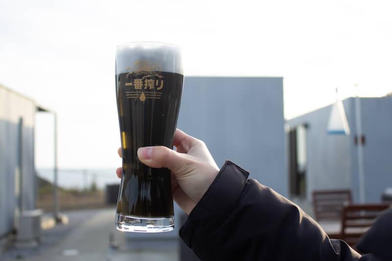 炭入りのビール