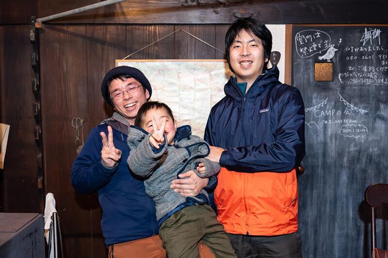 竹中雅幸さんと安田芳裕さん