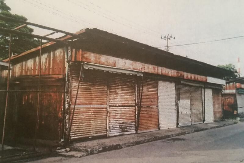 2013年当時の空き店舗
