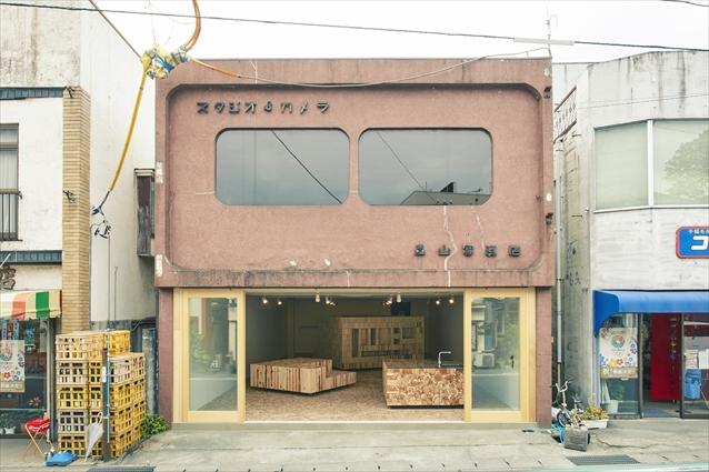 地域の写真店をシェアオフィスにリノベーション(大子町)