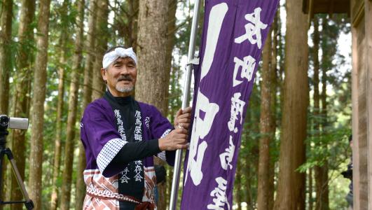 奈良さん父