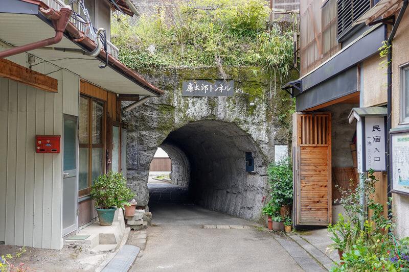 滝廉太郎ゆかりのトンネル