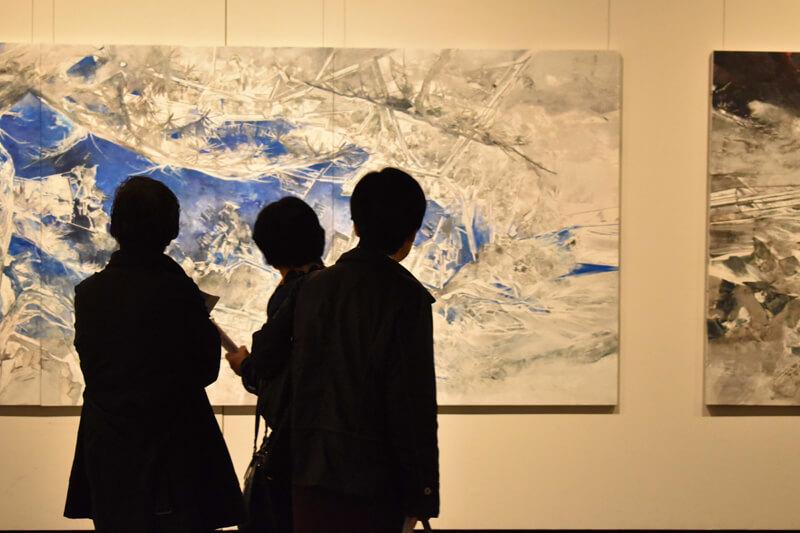 第1回桃源郷芸術祭の様子