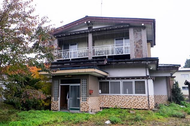 髙村さんの所有する空き家