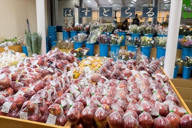 果樹や生花の販売所