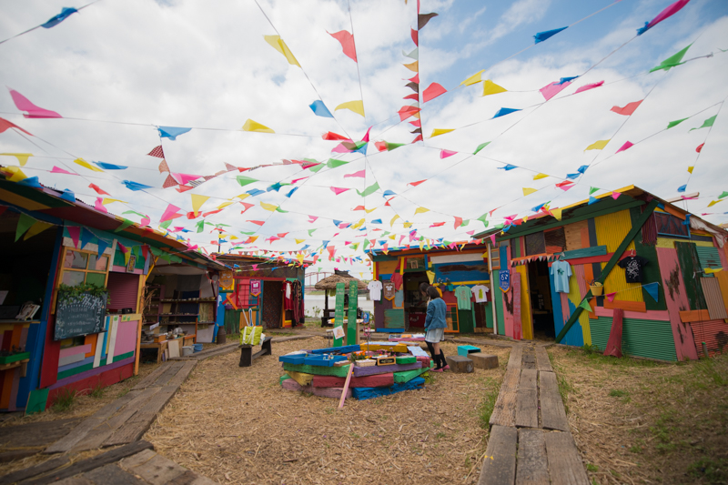 湖畔美術館で開催されている「イチマル」