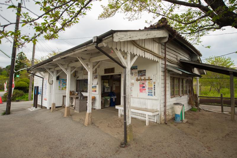 小湊鐡道の里見駅