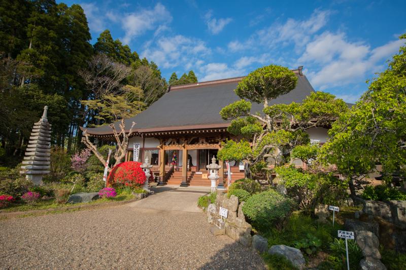 『南総里見八犬伝』の里見家ゆかりの「宝林寺」