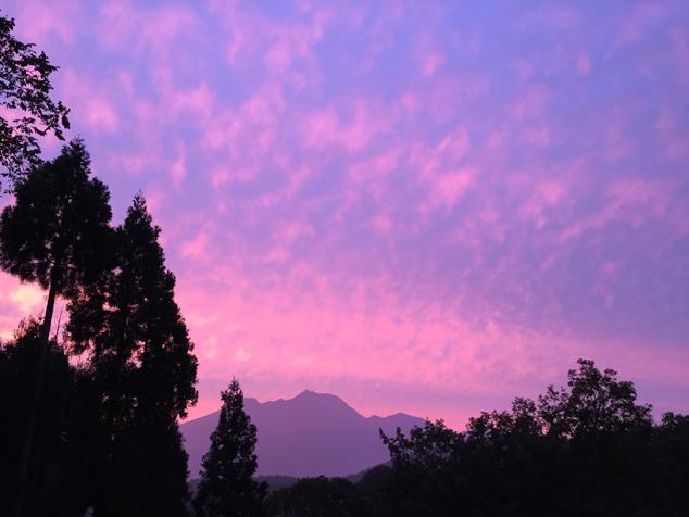 信濃町から妙高山