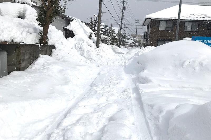 37年ぶりにこの地方を襲った豪雪
