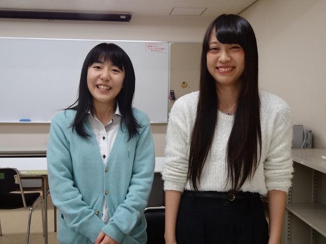 澤口沙希さん・高橋理紗さん