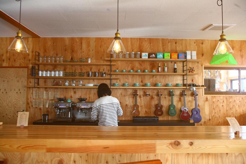 ジムに併設されているカフェ