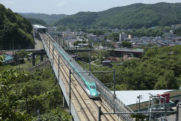 東北新幹線いわて「沼宮内駅」