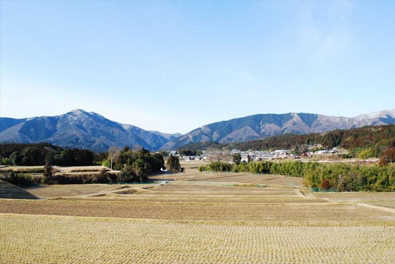 上石津の風景