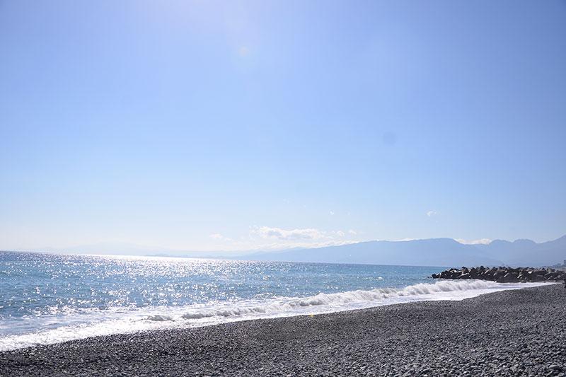二宮町の海