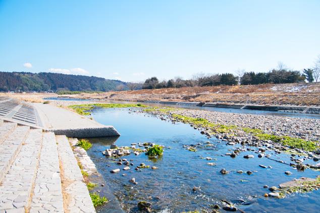 喜連川エリアの川