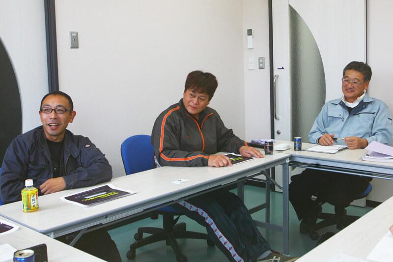 田村さん、村山さん、坂本支所長