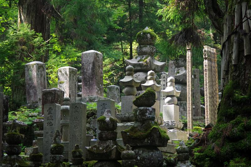 金剛峯寺奥の院への道