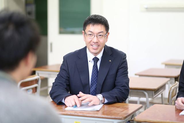 葛巻町教育委員会の大川原洋一さん