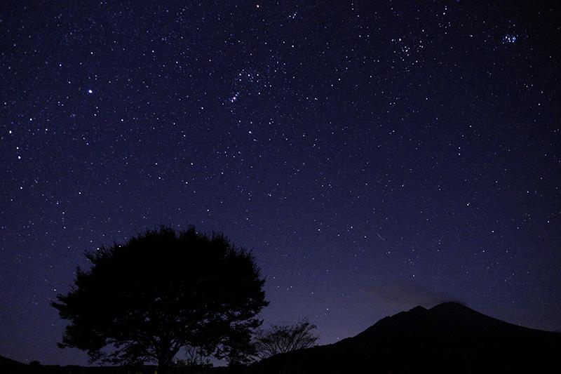 高原町の星空